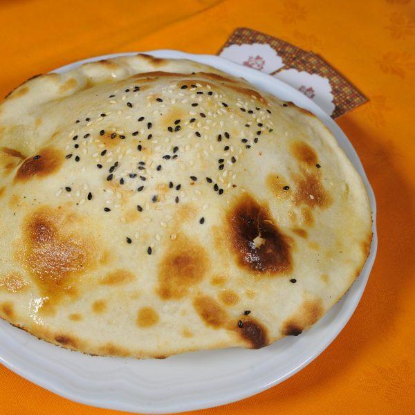 Cheese Naan (Pane indiano ripieno con formaggio)