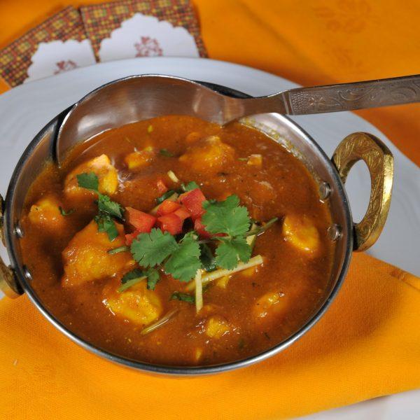 Chicken Curry (Pollo cotto in padella con spezie miste)
