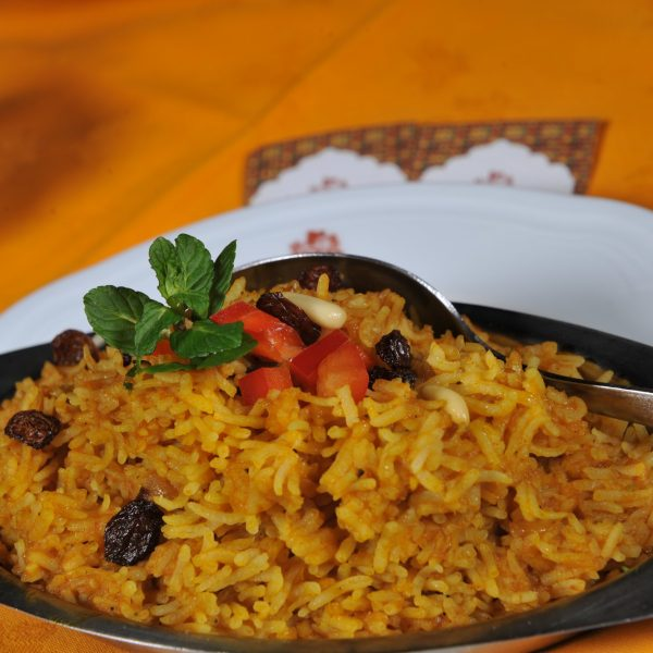 Curried Rice (Riso al curry)