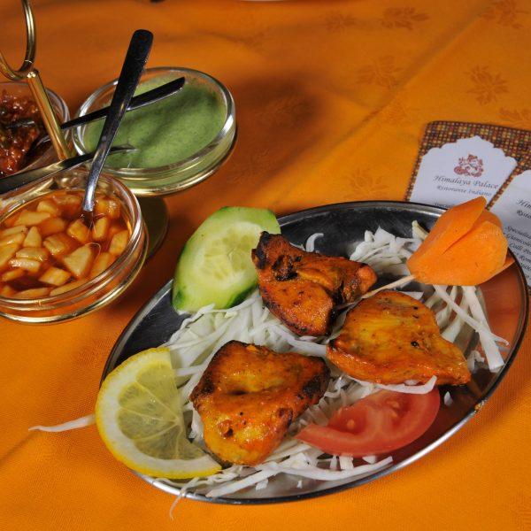 Fish Tikka (Pesce cotto in forno Tandoor)