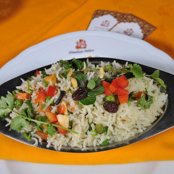 Jeera Vegetable Pulao (Riso saltato con cumino e verdure miste)