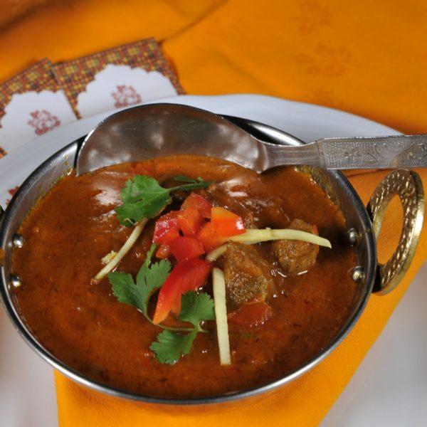 Mutton Rogan Josh (Agnello cotto con spezie miste)