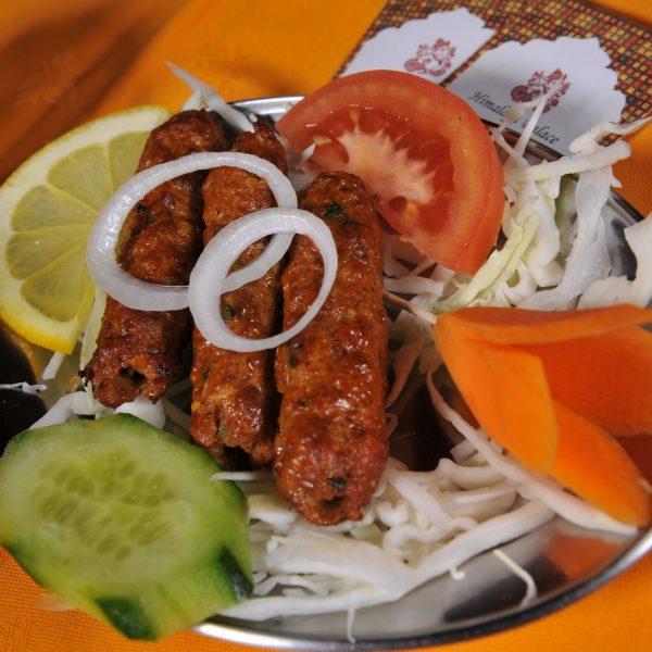 Seekh Kebab (Spiedini di carne macinato)